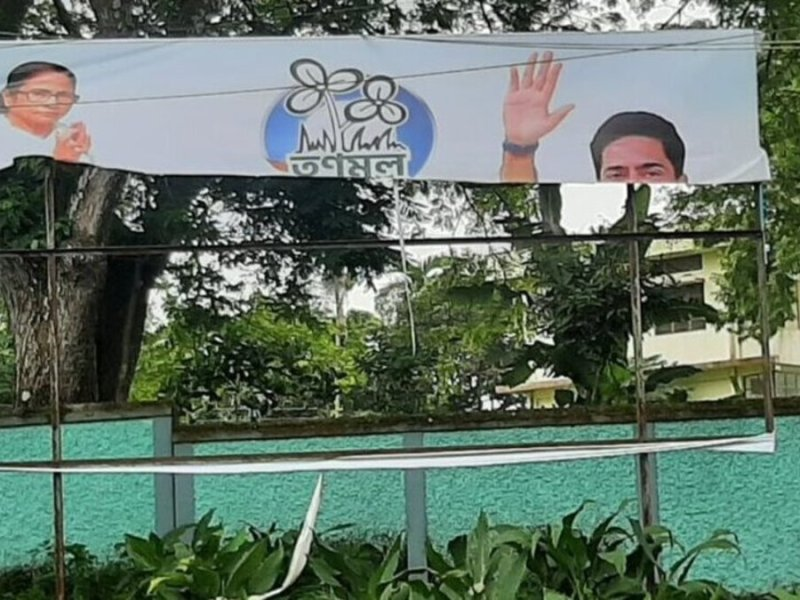 Tripura: Torn posters welcome TMC leader Abhishek Banerjee