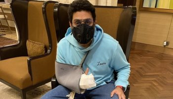 Abhishek Bachchan undergoes surgery, says back to work after 'freak accident'