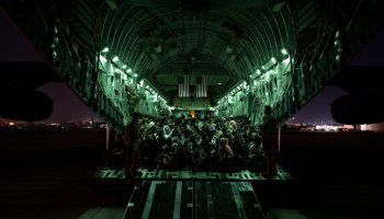 What's happening with Afghanistan evacuations?