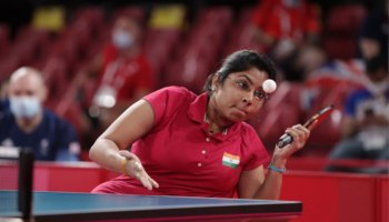 Bhavinaben becomes first Indian TT player to secure medal in Paralympics
