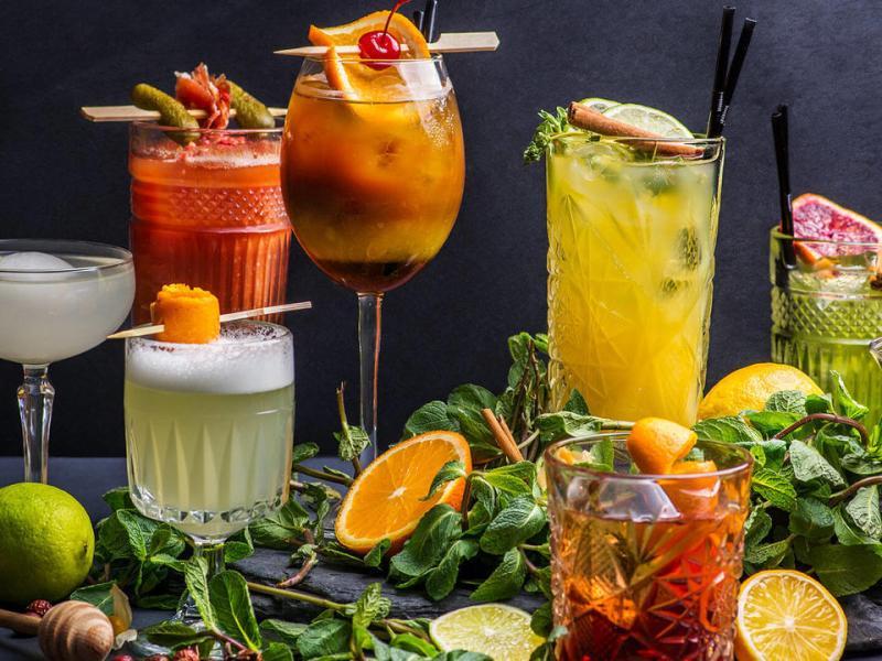 tea-based cocktails