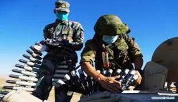 Chinese, Russian militaries hold drills in northwest China