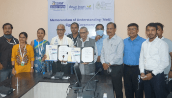 Assam down town University's dtVL and AIC-Selco Foundation sign MoU
