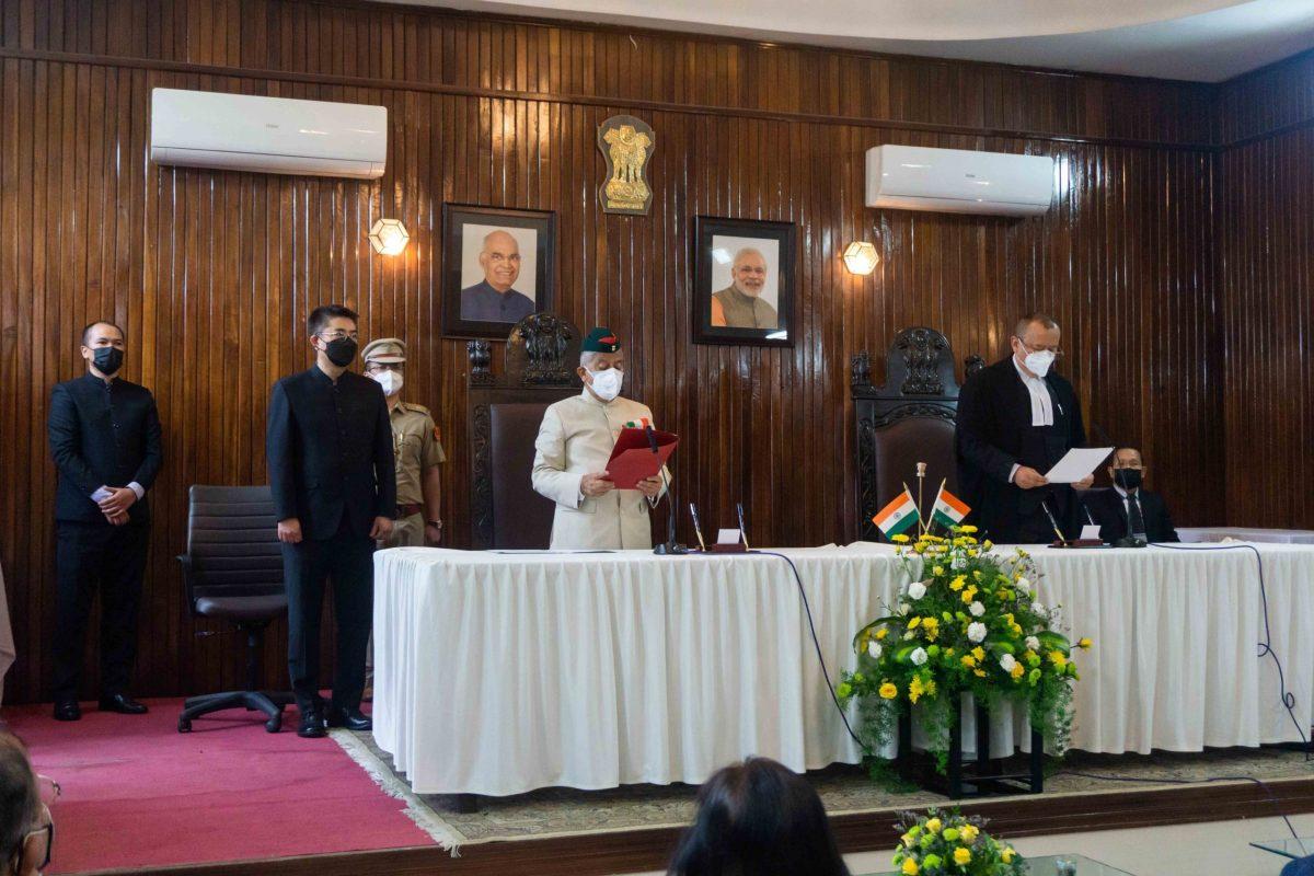 Arunachal governor Brig. (Dr) B.D. Mishra was sworn-in 23rdgovernor of Mizoram on Wednesday