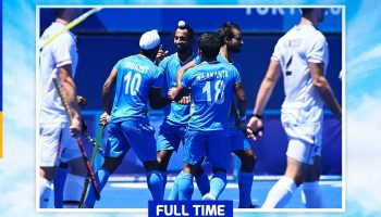 India create history, win Olympic hockey medal after 41 years