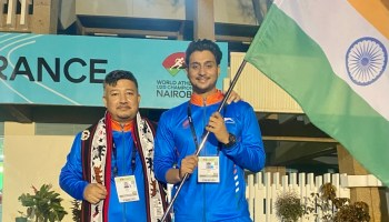 Nagaland CM adviser Abu Metha leads Team India at World Athletics U20 Championships