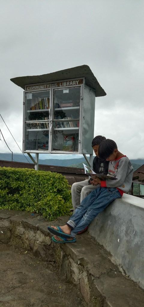 mini library kigwema kohima