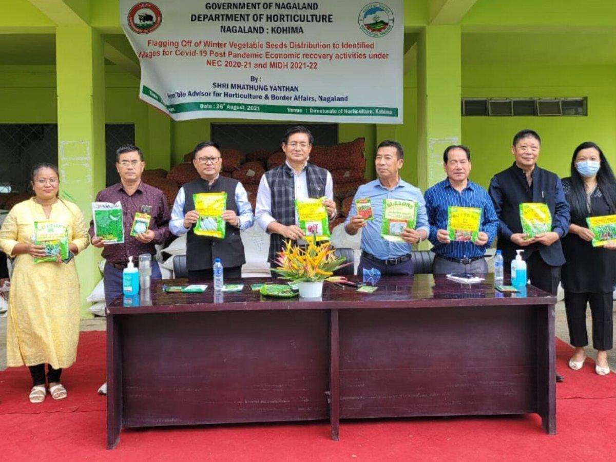 Nagaland distributes winter vegetable seeds to 170 villages
