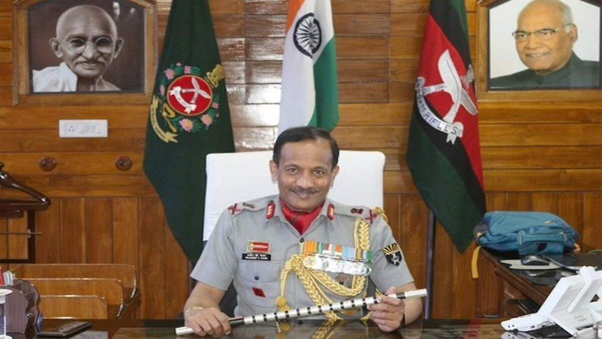 Assam Rifles Lt Gen Pradeep Chandran Nair