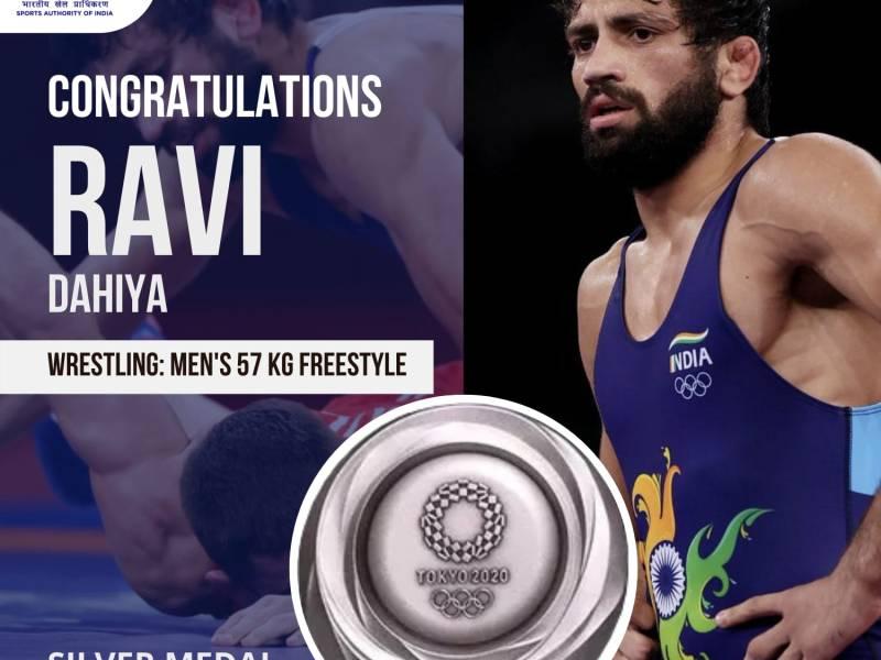 Wrestler Ravi Dahiya settles for silver after losing final to world champion Uguev