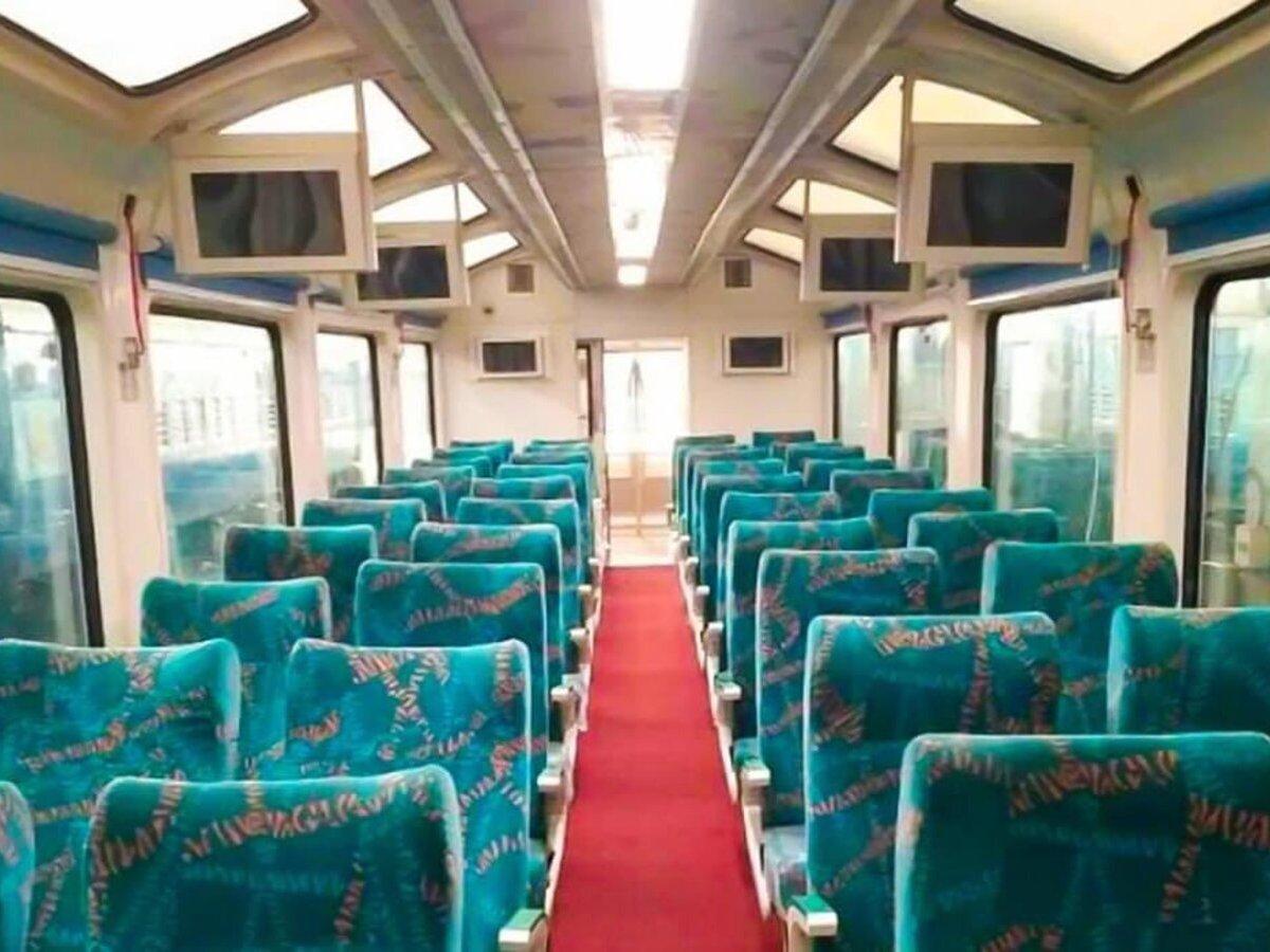 Now, visit scenic Dooars in vistadome train coach