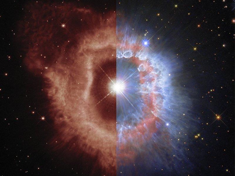 AG Carinae NASA Hubble