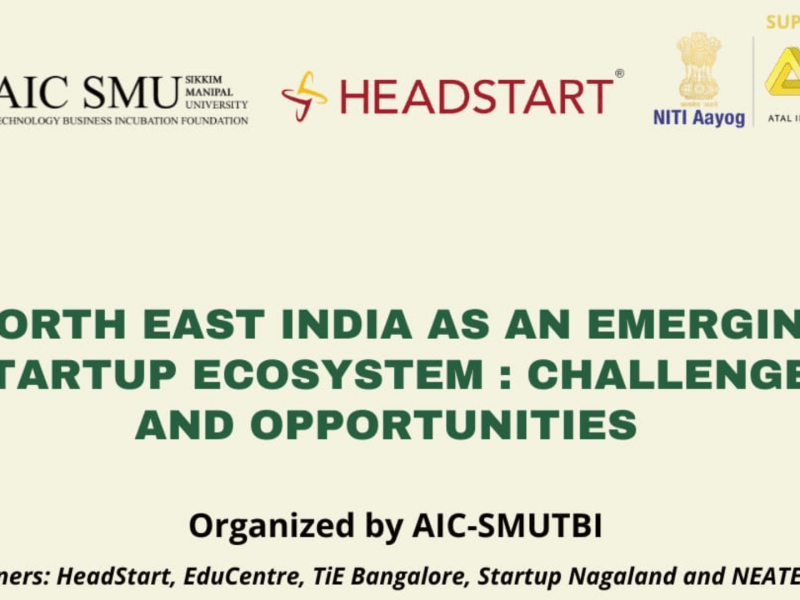 AIC-SMUTBI's 'Northeast India as an Emerging Startup Ecosystem' event