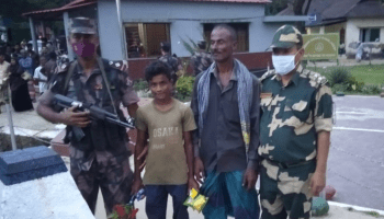 BSF hands over 13-year-old Bangladeshi boy to BGB in a goodwill gesture