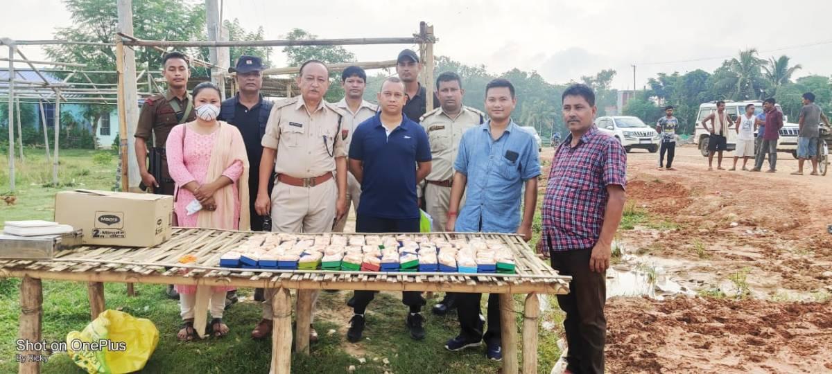 Assam Heroin Seized 8 cr