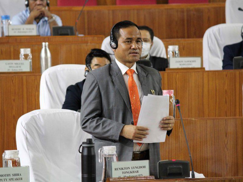 Minister Renikton Tongkhar