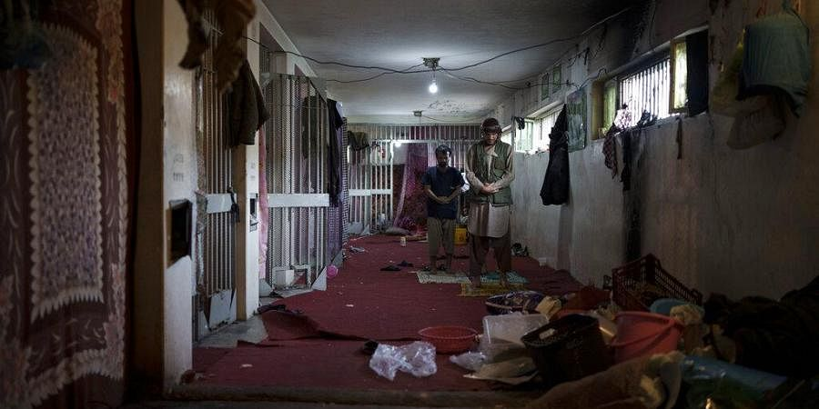 Once inmates, Taliban now in charge in a Kabul prison