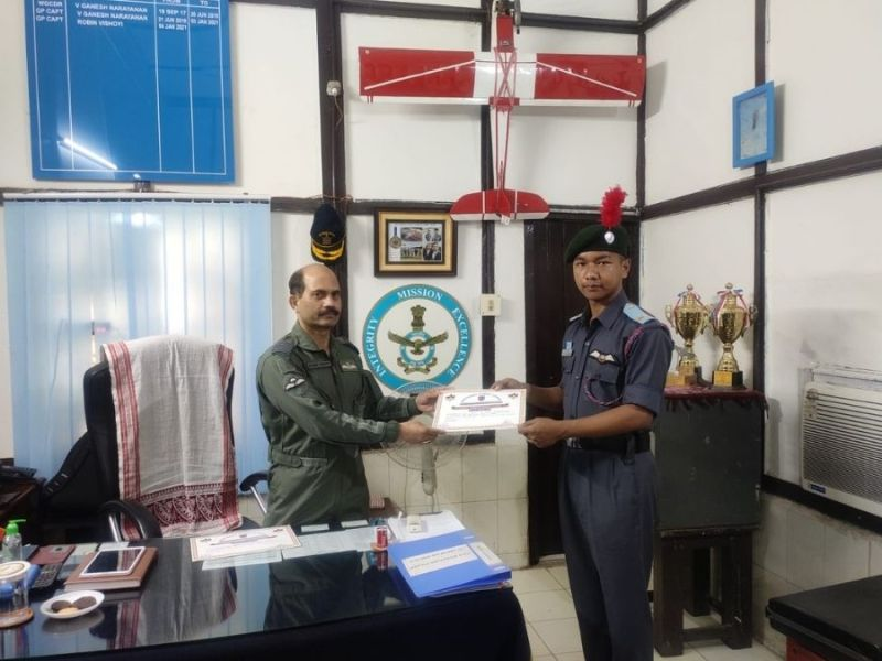 NCC cadet from NE clears SSB to join the Services as a commissioned officer