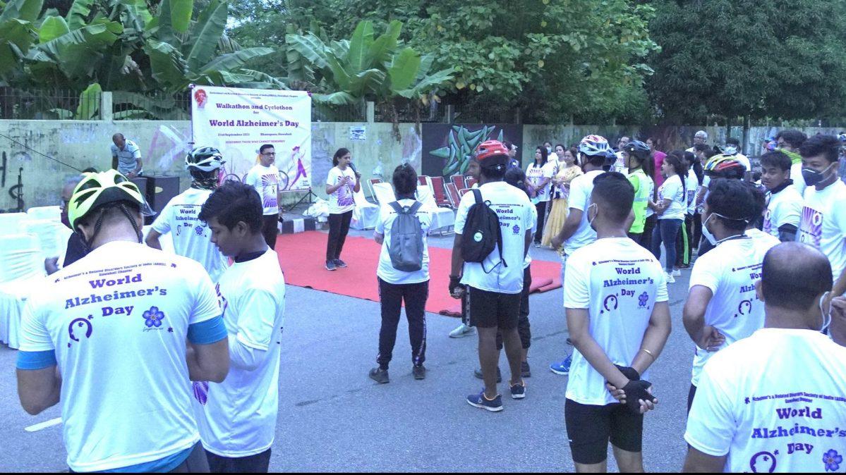 Walkathon and Cyclothon to celebrate World Alzheimer's Day in Guwahati