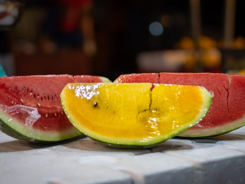Coming soon: Tripura's yellow watermelons to beat the summer blues