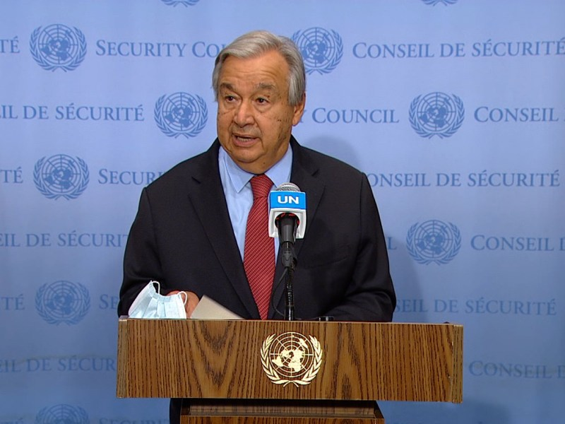 Need to end COVID-19 pandemic, our response too slow, unequal: UN chief