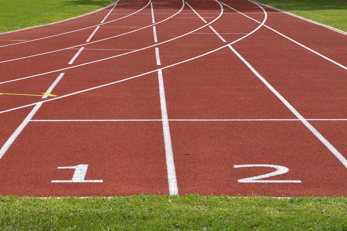 Tripura athletic track