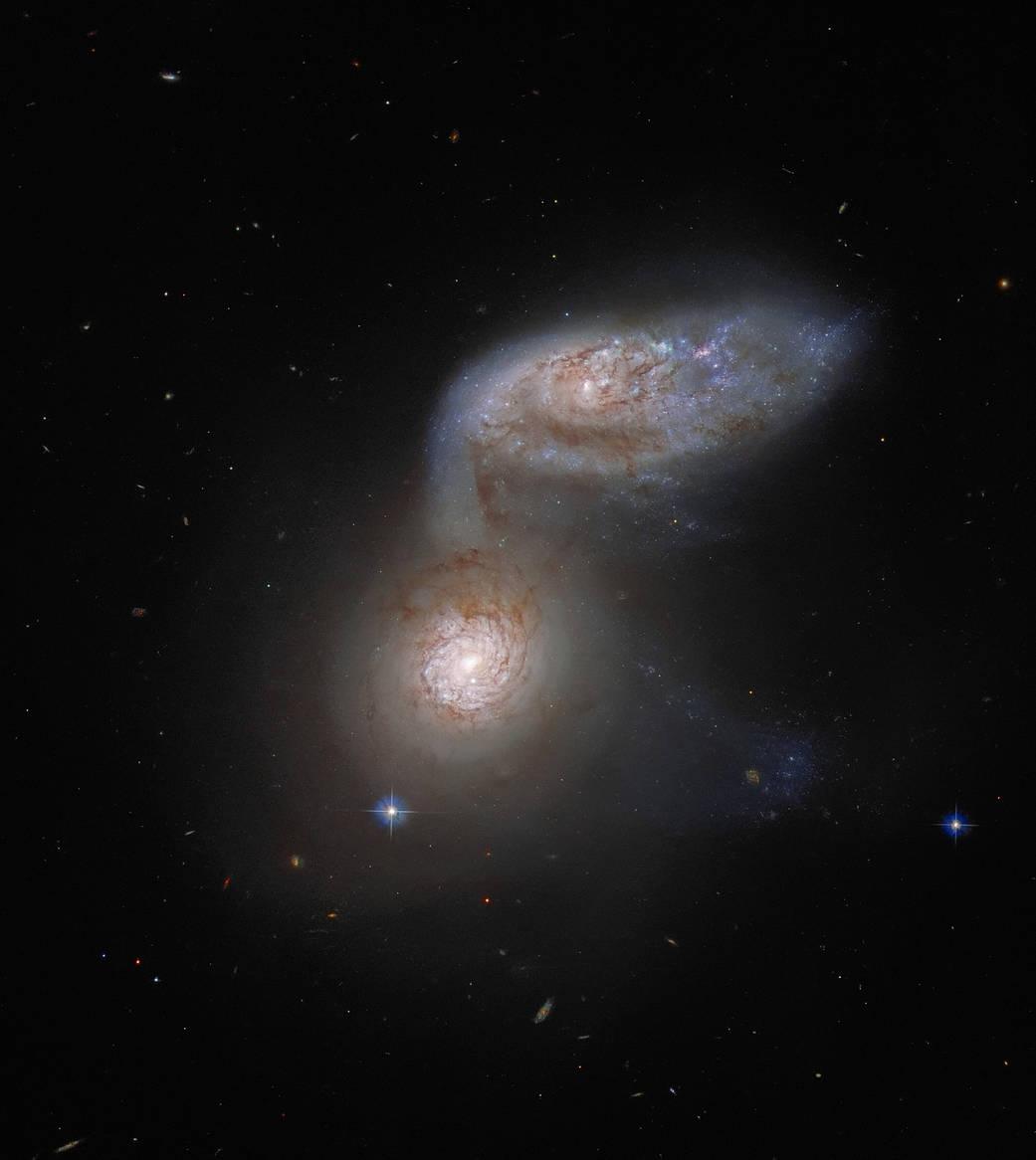 NASA ESA Hubble Arp 91