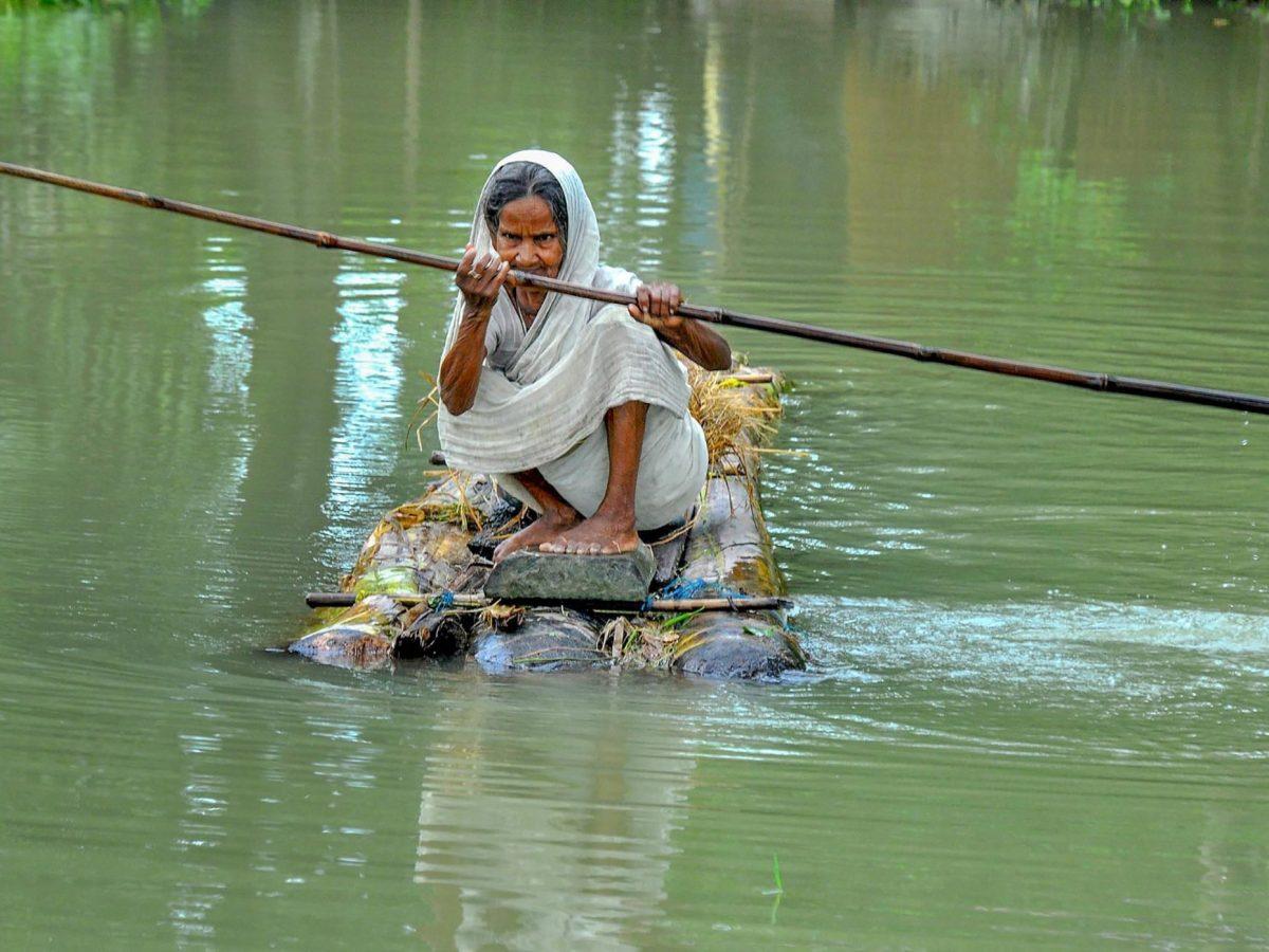 Flood: Central team visits Assam to assess damages; state seeks funds