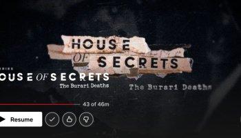 Burari deaths House of Secrets