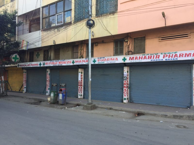 Shutdown called by proscribed outfits affects normal life in Manipur