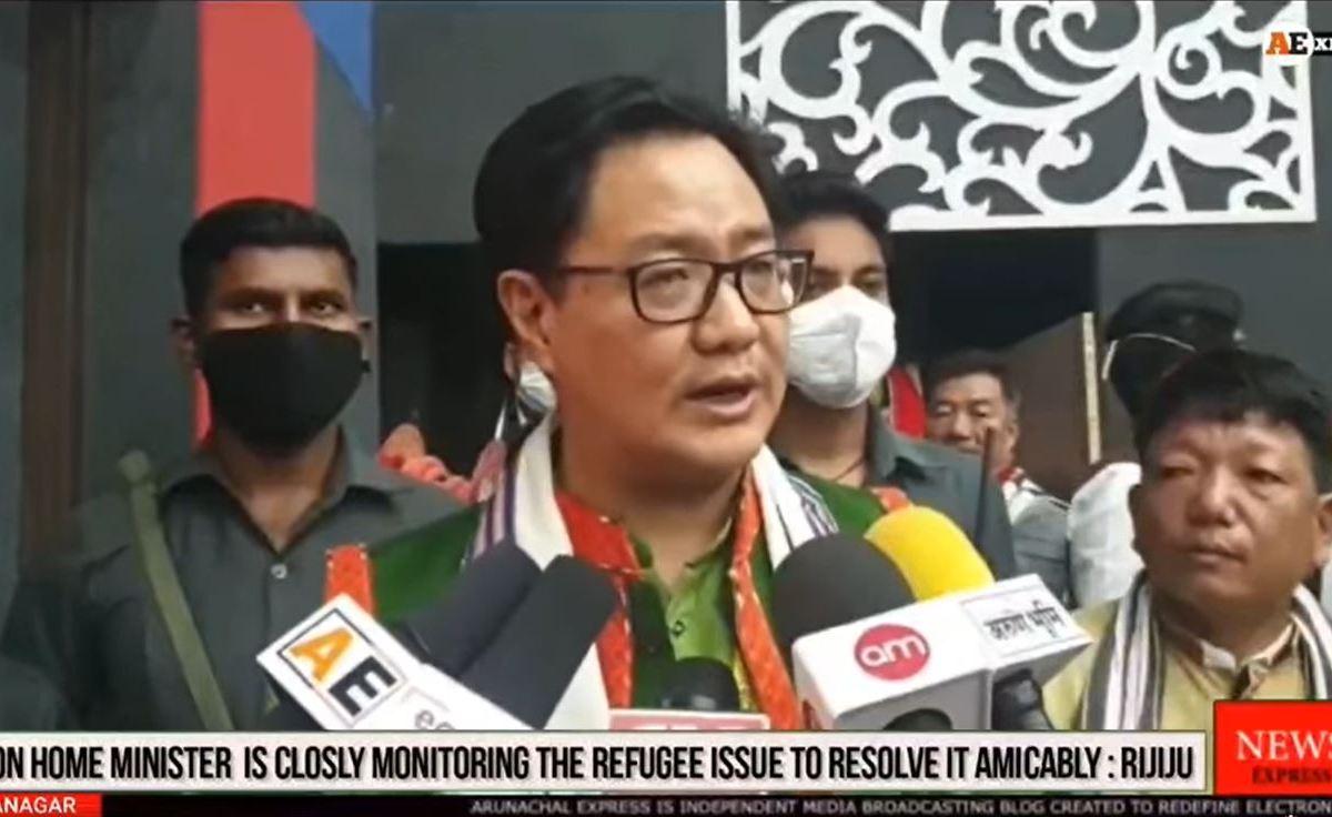 Rijiju latest statement on Chakmas and Hajongs