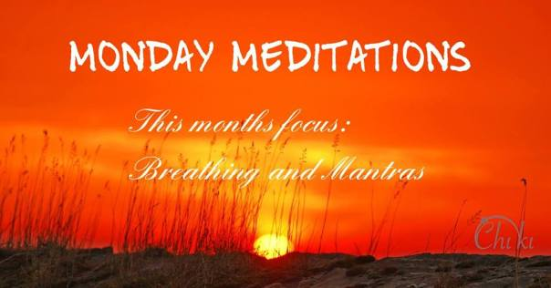 Monday Meditations