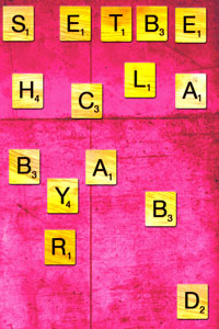 Short Stories Death By Scrabble by Charlie Fish