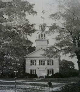 Easton Church in the 1940s