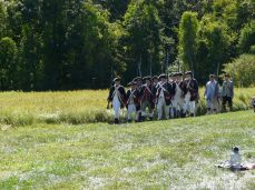 Continental Army Marching