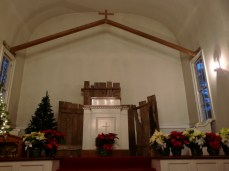 The Pulpit on Christmas Eve