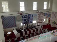 Quilts on Left Side