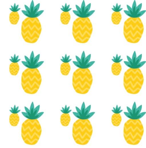 watercolour pineapple wallpaper
