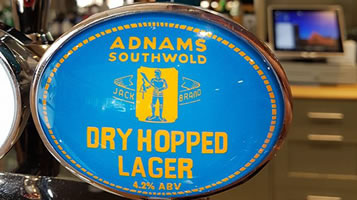 Suffolk brewery Adnams on tap at Easton Grange