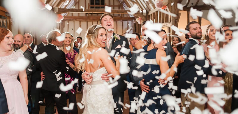 Evening celebrations. Alternative Essex wedding venue - Easton Grange luxury barn wedding venue