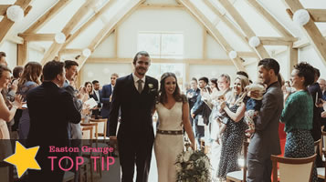 Top tips on choosing a wedding venue
