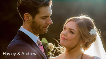 October wedding at Easton Grange: Hayley and Andrew