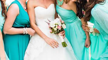 Professional bridesmaids?