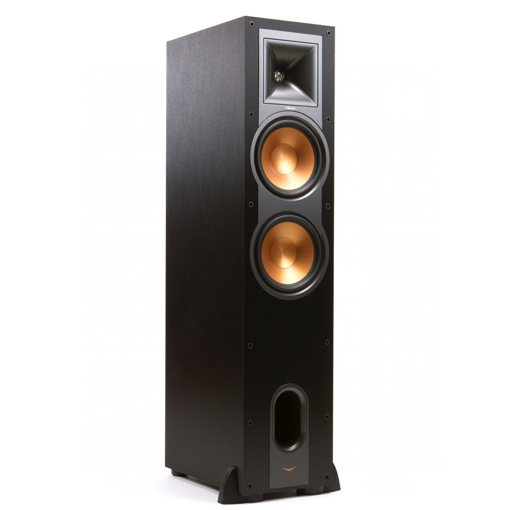 Klipsch R26F Black Tower Speaker Dual 6Inch
