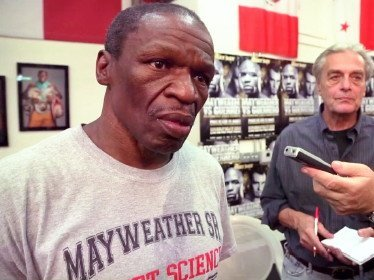 mayweather242 Robert Uzzell and Chip Mitchell Interview Trainer Floyd Mayweather, Sr.