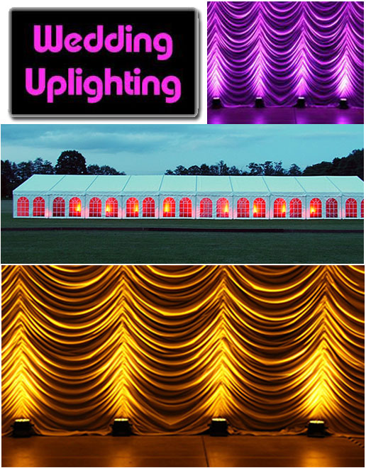 Uplighting packages from only £60