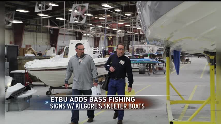 ETBU Adds Bass Fishing- Signs with Skeeter Boats of Kilgore_94389216-159532