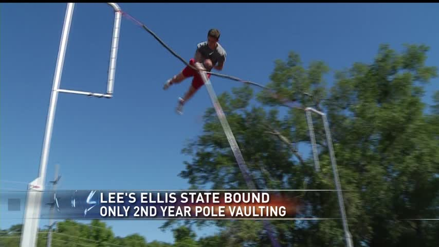 Lee-s Ellis state bound in only 2nd year pole vaulting_38734208-159532