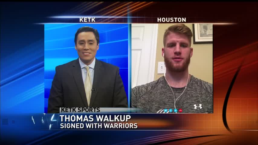 SFA-s Walkup on signing with Warriors Summer League team_39657734-159532