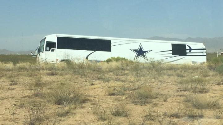 Cowboys Bus Crash in Arizona (7-24-16) - 720